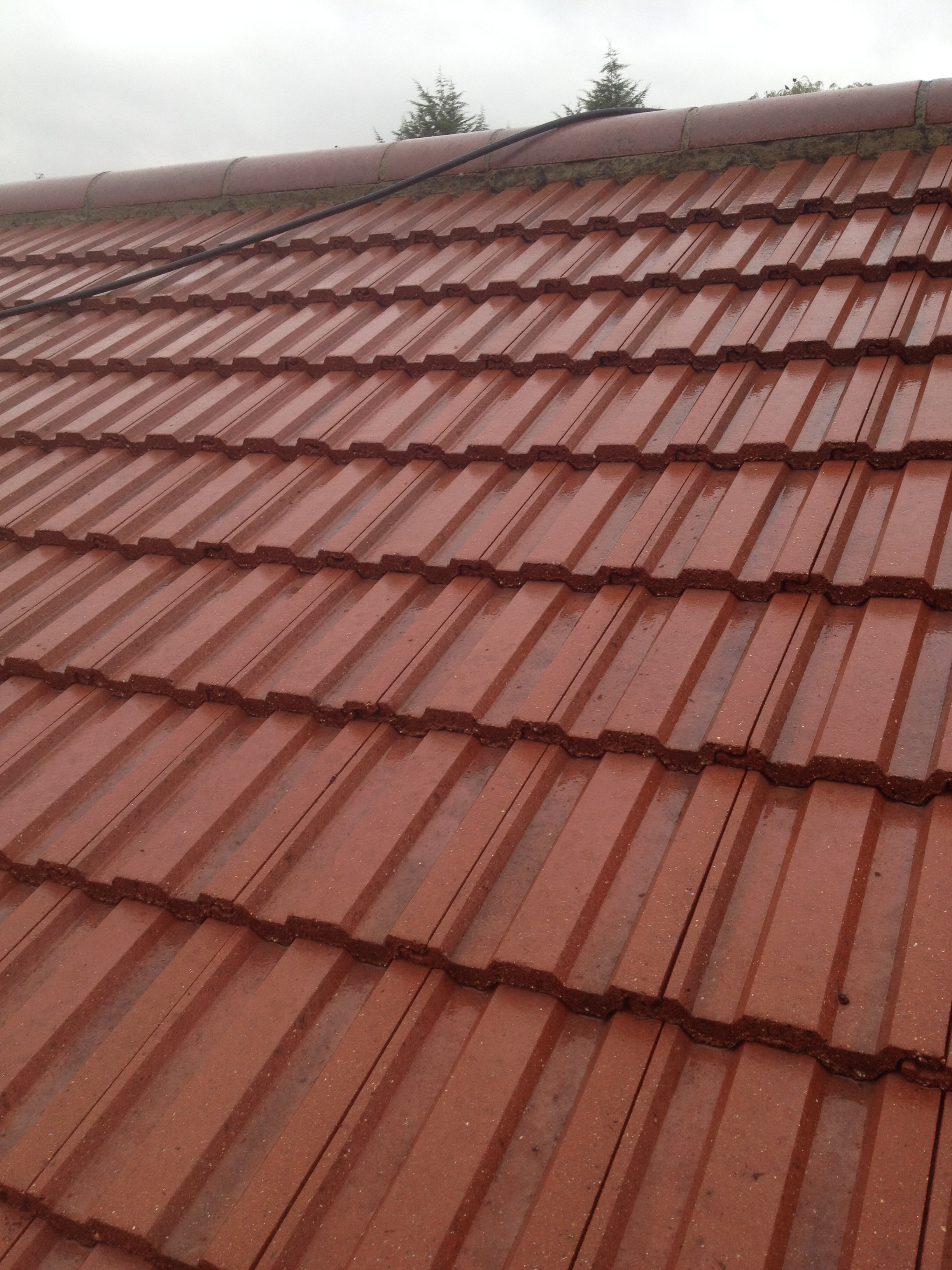 Dirty Garage Roof Kenton Clean Roof Harrow